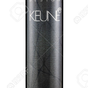 Rishon Le Zion, Israel - November 14, 2014: Can of Keune Design Mousse Styling Forte 500ml. A concentrated high quality mousse, which contains Jojoba oil for shine and condition. Produced in Holland